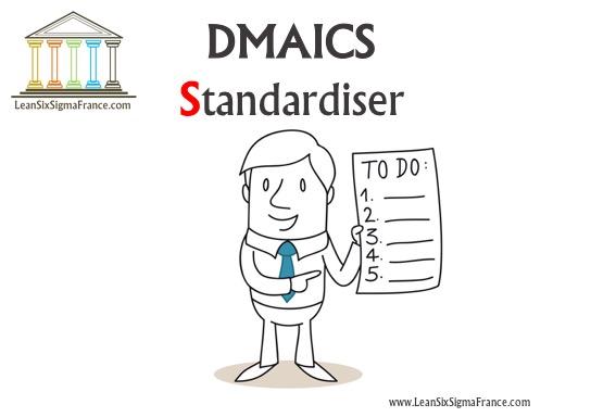 DMAICS-Standardiser-Six-Sigma