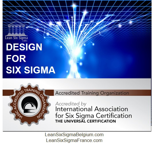 Formation DFSS Design for six sigma Belgium and France