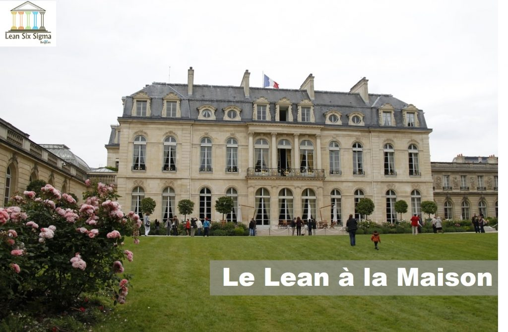 Lean Maison-Lean Six Sigma France Paris