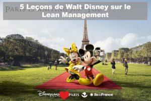 Lean Management Walt Disney -Lean Six Sigma France