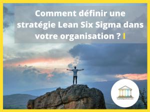 lean six sigma organisation