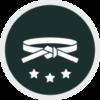 Black Training Icon