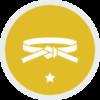 Yellow Training Icon